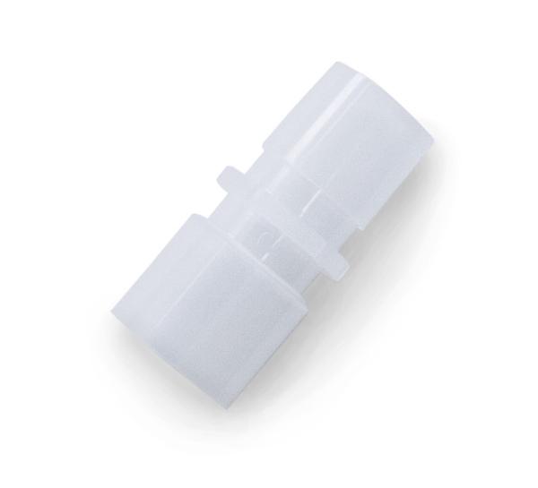 Konnektor zu Korr-a-flex Schlauch 22iD / 22M weiß