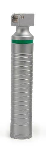 Laryngoskop-Griff Fiber Optik LED, F.O. VET-Griff für 2 Batterien Größe C