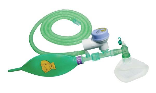 Anästhesie-System 1,8m für Tiere unter 7kg mit 0,5l Atembeutel, Mapleson