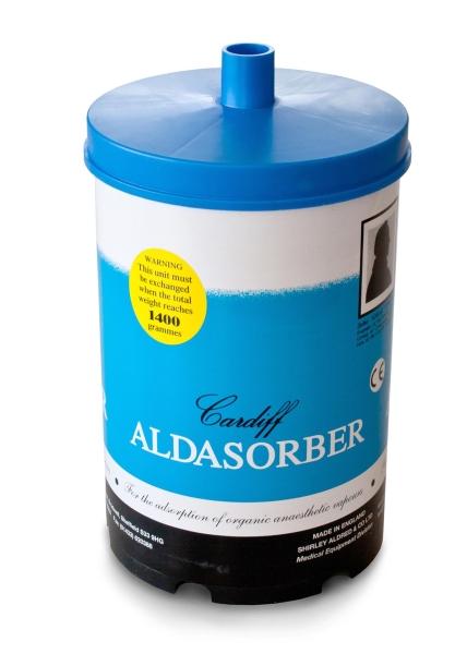Aldasorber Aktivkohle- Narkosefilter