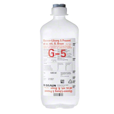 Glucose-LSG 5% ad us vet 10x500ml Infusionslösung (3574170)
