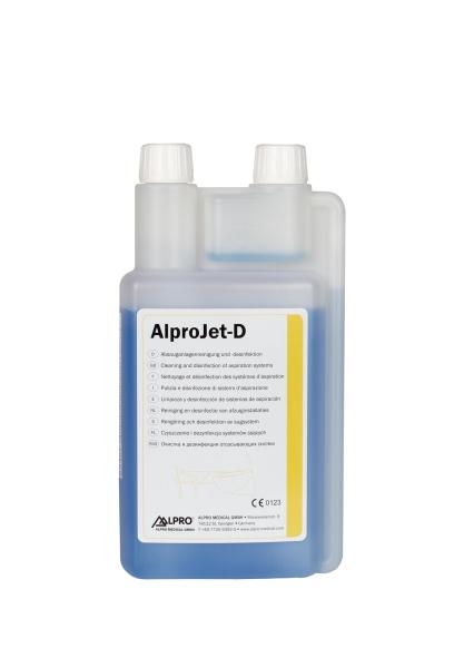 Alpro-Jet D, 1 Ltr. Dosierflasche zur täglichen desinfizierenden Reinigung