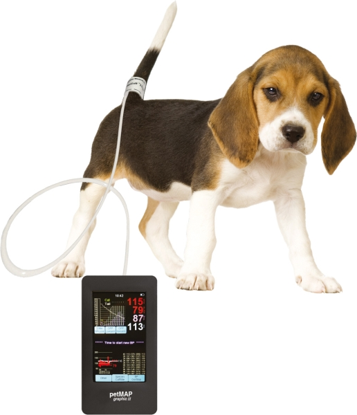 petMAP graphic II, Tiermedizinisches Blutdruckmessgerät