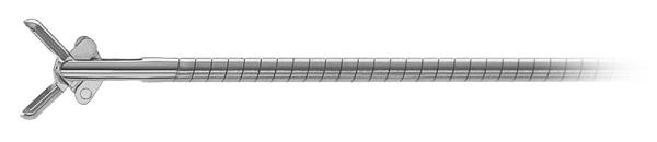 Biopsie Zange Länge 28 cm, 3 Charr., flexibel