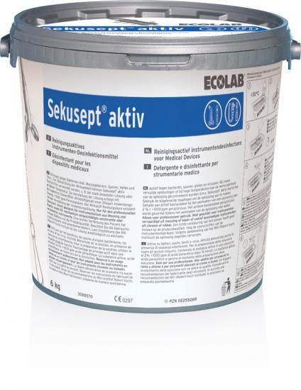Sekusept® aktiv Die leistungsstarke Komplettlösung für Reinigung und Desinfektion