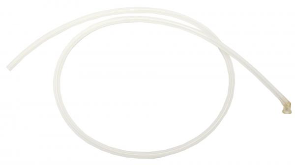Patientenschlauch Ø7/13 mm mit 1 Winkelsteckkupplung transparent 1,7 m