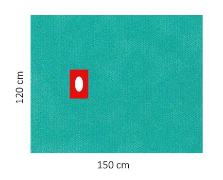 Lochtücher Raucodrape® PRO selbstklebend steril