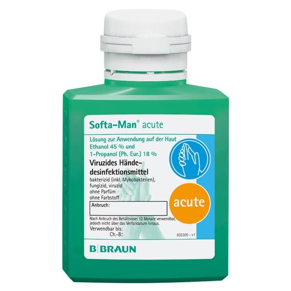 Softa-Man® acute viruzide alkoholische Händedesinfektion