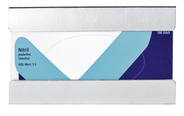 Handschuhspender FIX 75 passend für Handschuhe mit dem Maß 250x132mmx75mm