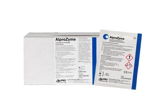 AlproZyme, 10g enzymatisches Reinigungsgranulat, 100 Stück