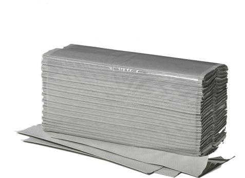 Handtücher Plus, 1-lg., 25x23 cm 5000 St. Recycling, V-Falz