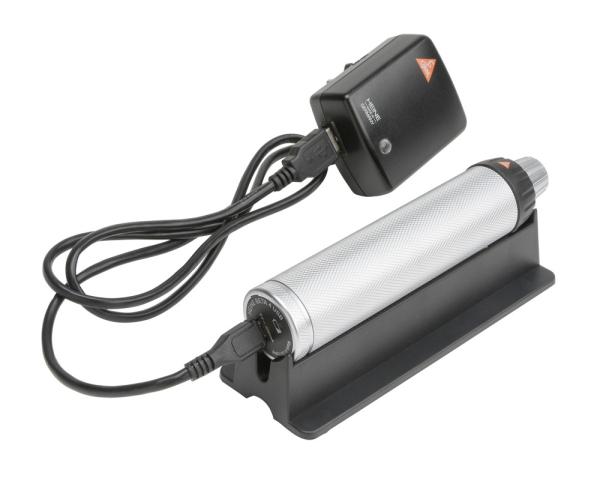 Ladegriff kompl., mit Li-ion Ladebatterie, Beta4 USB Bodeneinheit, Kabel, Netzteil, Griffablage