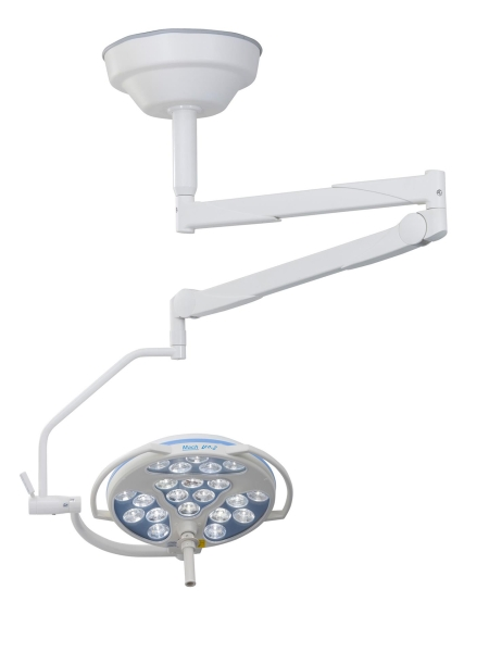 Operationsleuchte Mach LED 3sc, Deckenmodell, 2,80 m bis 3 m