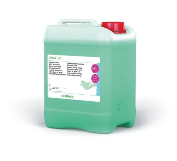 Lifosan® soft Waschlotion mit hautneutralem pH-Wert