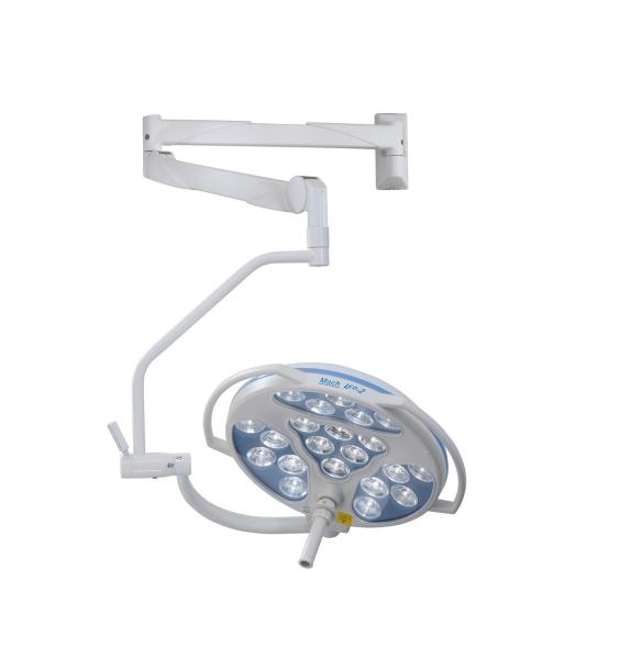 Operationsleuchte Mach LED 2sc, Wandmodell, 115.000 Lux Beleuchtungsstärke