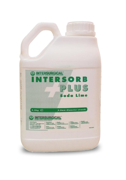 Atemkalk Intersorb Plus Granulat, 5 Liter Kanister