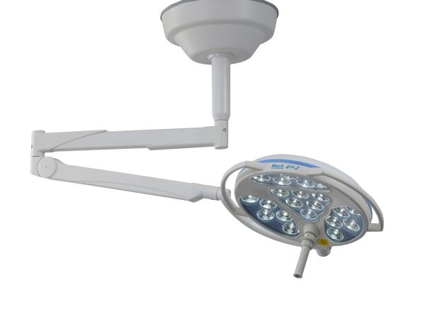Mach LED 2SC mit zentralem Federarm für Befestigungshöhe unter 2,80m