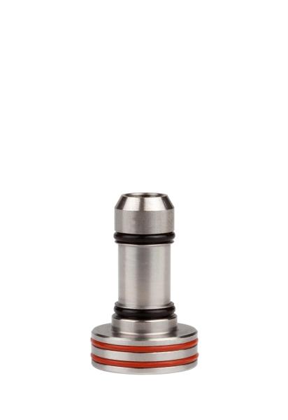 Adapter 02/G, Edelstahl, für Hand- und Winkelstücke mit ISO-Schnittstelle