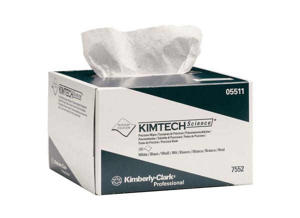 Kimtech Science Präzisionstücher, 1-lagig. weiß, 11x21 cm, 280 Stück