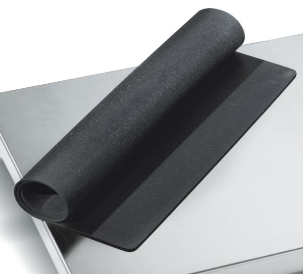 Matte für Veterinärwaage schwarz Vinyl für EHR4 890 x 540 mm
