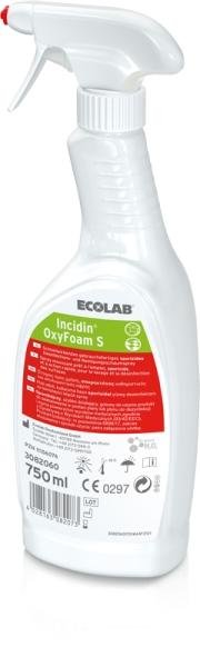 Incidin OxyFoam S sporzides Reinigungs- und Desinfektionsmittel als Schaum