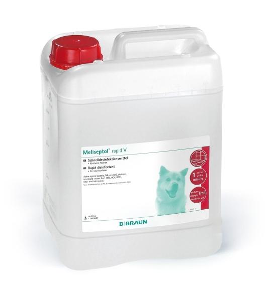Meliseptol® Rapid V Alkoholische Schnelldesinfektion umfassend wirksam